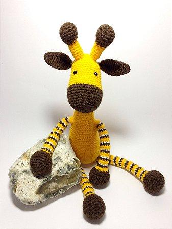 Amigurumi Girafinha - Newborn e Decoração