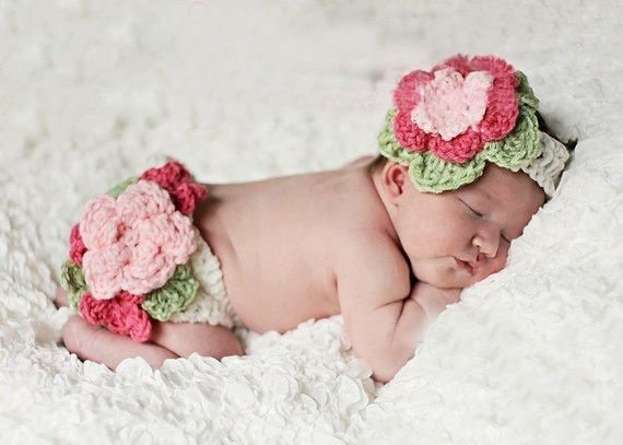 Conjunto Newborn Menina Primavera
