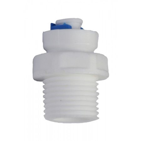 Conector Rápido Rosca 1/2 Para Mangueira 1/4 P/ Filtros Bebedouros e Purificadores de Água
