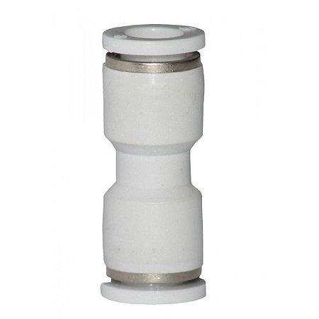 Conector Reto Para Mangueira De 8 mm