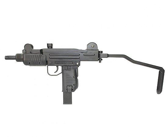 Rifle de Pressão Sub-Metralhadora Mini Uzi Full Metal BlowBack CO2  4.5mm KWC
