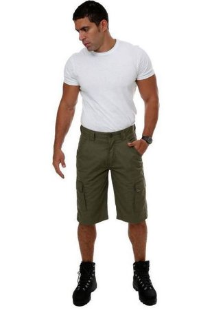 Bermuda RIP STOP 6 Bolsos Proteção UV 50+ - Fox Boy