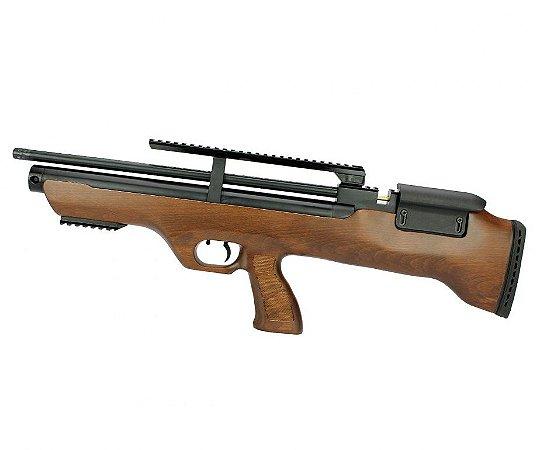Carabina de Pressão Hatsan PCP Bullpup Flashpup 12 tiros - Cal. 5.5mm