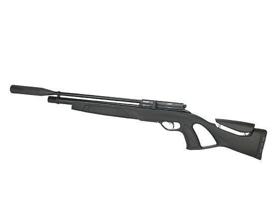 Carabina Pressão PCP Coyote Black Whisper Polimero Cal. 5.5mm - GAMO