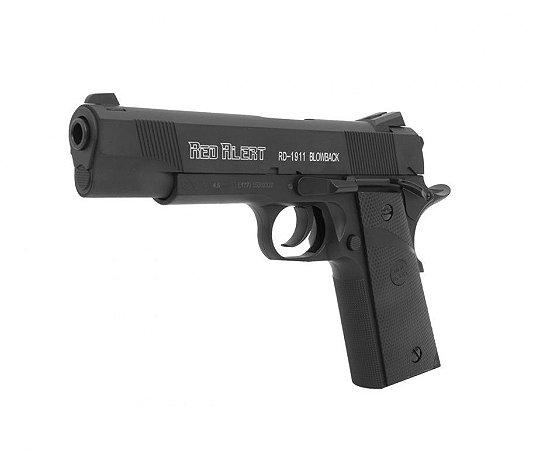 Pistola Pressão CO2 RD-1911 Blowback Cal. 4.5mm - Red Alert - Gamo