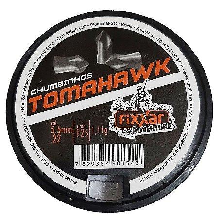 Chumbinho TomaHawk - Cal 5.5 mm - c/125 un - Fixxar