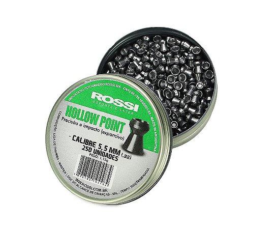 Chumbinho Hollow Point Cal. 5.5mm - c/ 250un - Rossi