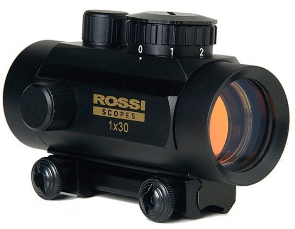 """Mira Holográfica Red Dot 1x30 - Mounts 3/8"""" - Rossi"""