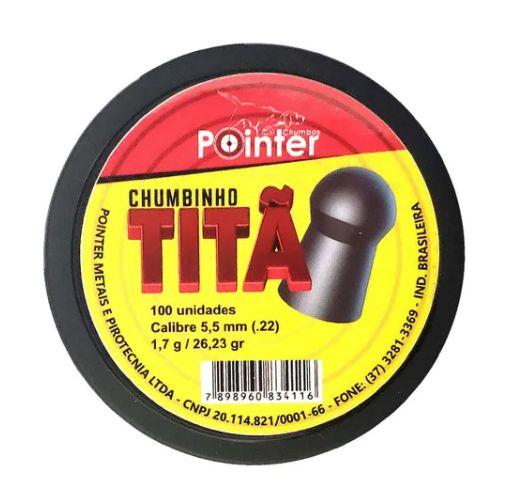 Chumbinho Pointer Titan - Cal. 5.5mm - c/100un