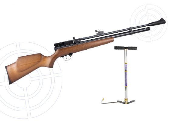 Carabina de Pressão Beeman PCP 1338 Cal. 5.5mm + Bomba Rossi 2020