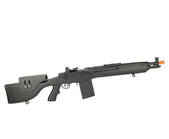 Rifle Airsoft Socom M14 DMR CM032F-BK - Bivolt - Cal. 6.0mm - Cyma