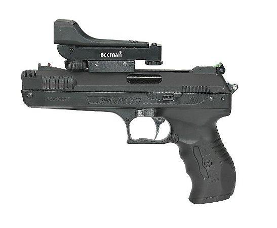 Pistola de Pressão Beeman 2006 P-17 - Cal. 4.5mm + Red Dot Beeman