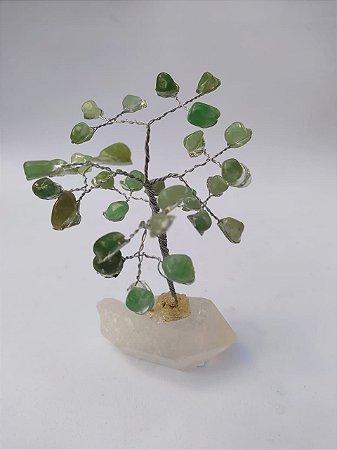 Árvore da Felicidade Quartzo Verde