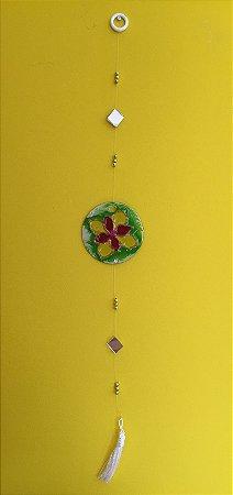 Mandala de vidro (pêndulo)