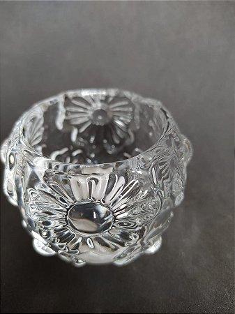 Castiçal vidro Girassol