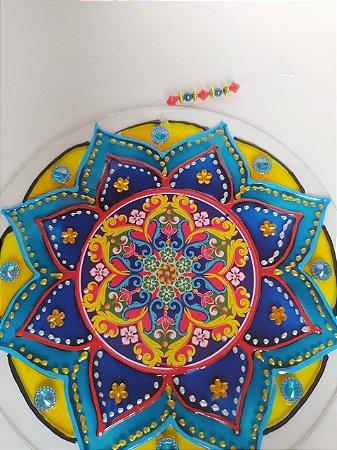 Mandala Vidro Vitral
