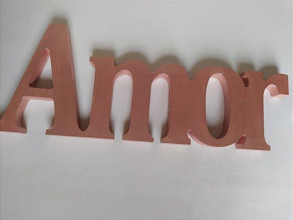 Amor em MDF