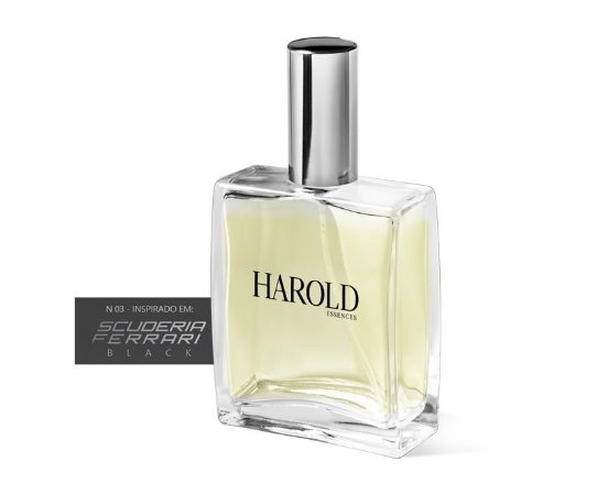 HAROLD 03 SIMILAR AO FERRARI BLACK - 50ML