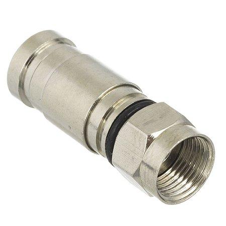 Conector RG6 de Compressão