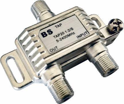 Divisor TAP BS 20 UHF VHF Sinal Digital