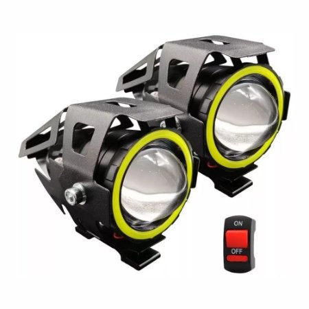 Farol Auxiliar de LED Para Motos