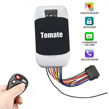 Rastreador com Bloqueador de Veículos GSM GPRS GPS