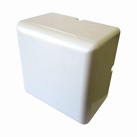 Caixa Organizadora Mini Branca para CFTV sem Fonte
