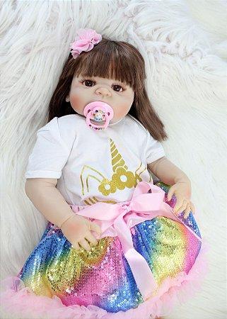 Boneca Bebe Reborn 040