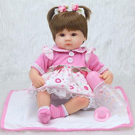 Boneca Bebe Reborn 056