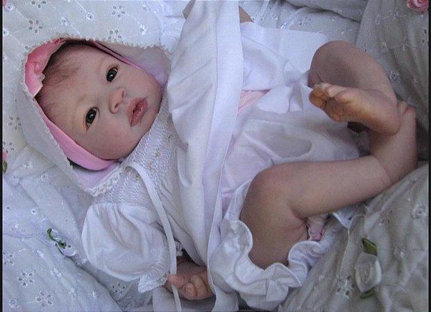 Boneca Bebe Reborn Super Realista 100% Silicone Nina
