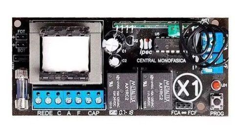 Placa Central Comando Eletrônica Universal X1 Ipec Moto