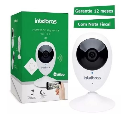 Câmera Intelbras Mibo Wifi Hd 720p Ic3 Micro-sd Audio E Wdr