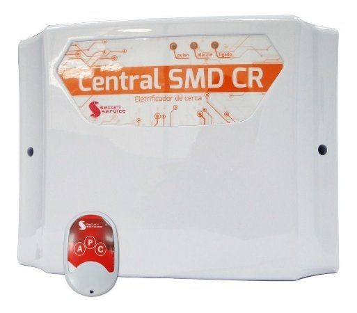 Central Cerca Elétrica Choque Eletrificador Smd Cr 10.000v
