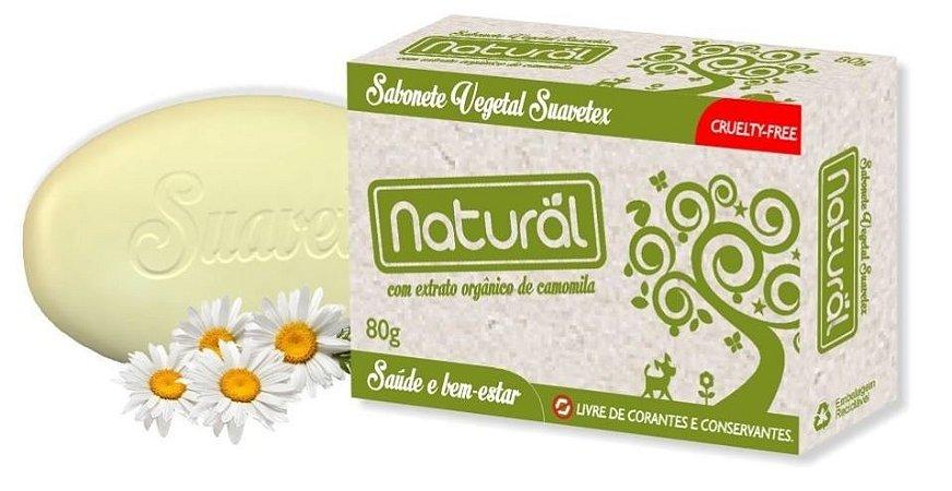 Sabonete Vegetal com Extrato de Camomila - Orgânico Natural