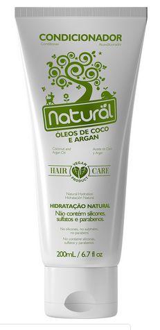 Condicionador Natural com Óleo de Coco - Orgânico Natural