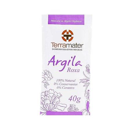 Máscara de Argila Roxa Orgânica 40g - Terramater