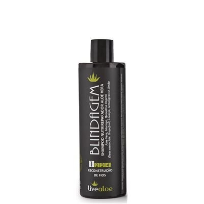 Shampoo Nutrireparador Aloe Vera - Livealoe