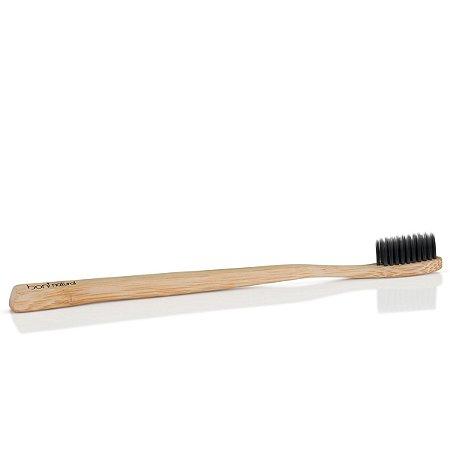 Escova Dental Bamboo e Cerdas de Carvão - Boni Natural