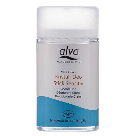Desodorante Stick Kristall Sensitive - Alva