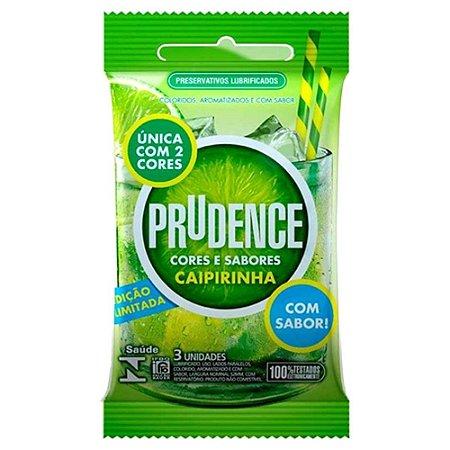 Preservativo Prudence Cores e Sabores Caipirinha