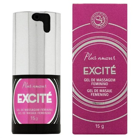 Gel de Massagem Feminino Excite Plus Amour