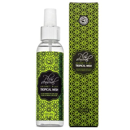 Óleo de Massagem Afrodisíaco - Tropical Wish 120ml