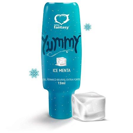 Excitante Unissex Térmico e Beijável Yummy Ice Menta 15ml
