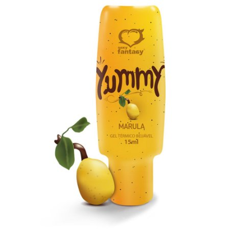 Gél Comestível Yummy Marula - 15 ml