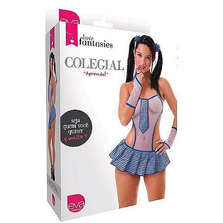 FANTASIA COLEGIAL - ROSA- LIN22R