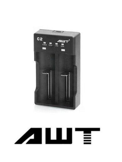 Carregador de Baterias C2-2A - AWT