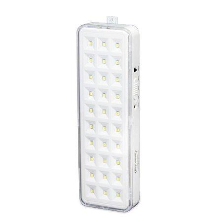 Iluminação de emergência 30 LEDs SMD Premium Segurimax