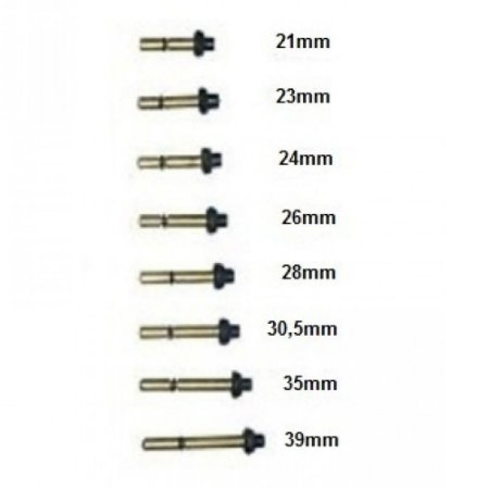 Pino para Válvulas de Extintor P1 ABC com O'ring e Pera Imprefix