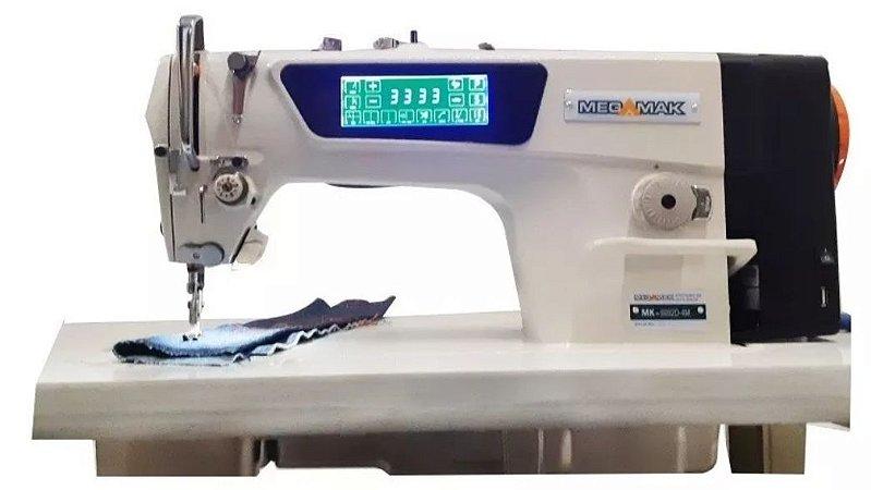 Máquina de Costura Reta Eletrônica Megamak com Painel Touch Screen - 220V