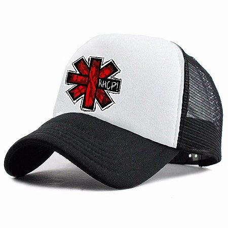 Boné Trucker Promoção Banda Red Hot Chili Peppers Rock